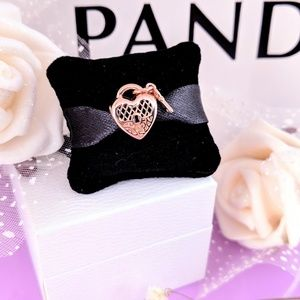 Pandora Rose Love You Lock Charm